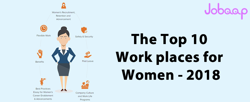 The Top 10 Workplaces for Women – 2018 |Jobaap